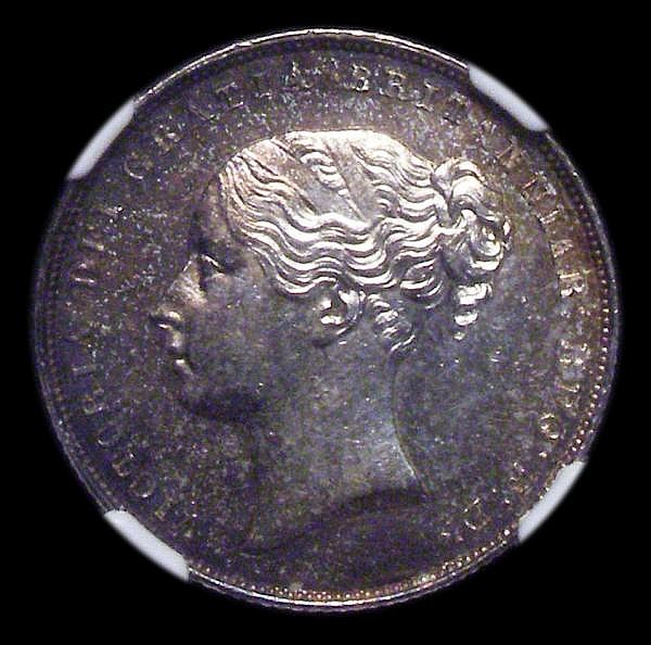 Shilling 1853 ESC 1300 NGC MS62 in our opinion appears conservatively graded