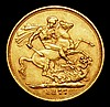 Sovereign 1877M George and the Dragon Marsh 99 VF