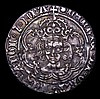 Groat Henry VII Facing Bust issue type 3b with realistic hair S.2198A mintmark Escallop Good Fine with evidence of die clashing on either side, comes with old sales ticket
