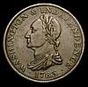 USA Cent 1783 Washington Breen 1189 Good Fine