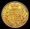 Sovereign 1860 Marsh 43 Fine/Good Fine