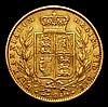 Sovereign 1860 Marsh 43 Fine