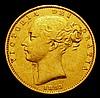 Sovereign 1853 WW Raised S.3852C Fine/Good Fine