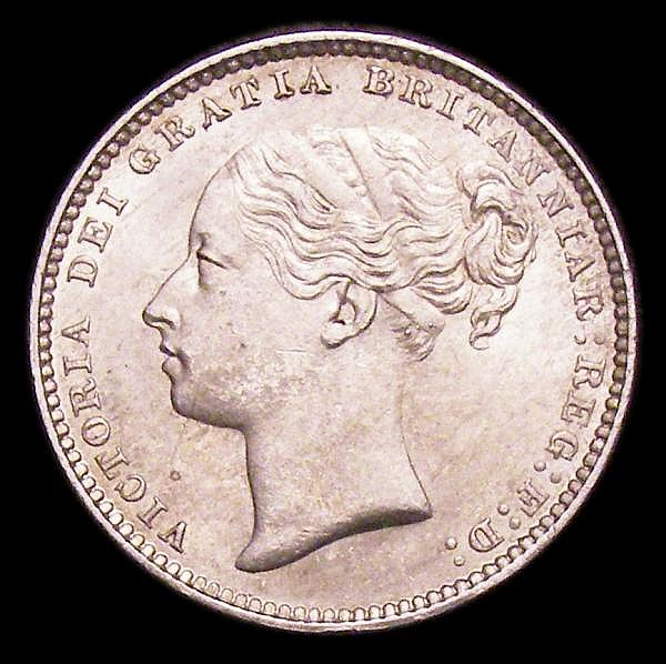 Shilling 1883 ESC 1342 UNC or near so and lustrous
