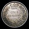 Shilling 1876 ESC 1328 Die Number 6, GVF toned, scarce