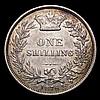 Shilling 1876 ESC 1328 Die Number 26, VF/GVF, scarce