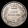 Shilling 1876 ESC 1328 Die Number 2, GVF with a couple of small spots, Scarce