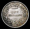 Shilling 1876 ESC 1328 Die Number 15, NEF/GVF with some tone spots, scarce