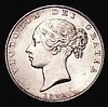 Halfcrown 1842 ESC 675 GEF/AU the obverse with some hairlines