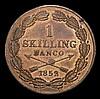 Sweden Skilling 1852 KM671 lustrous Unc