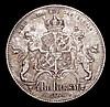 Sweden Riksdaler Specie (4 Riksdaler Riksmynt) 1864 ST nicely toned GEF KM711