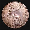 Penny 1918KN Freeman 184 dies 2+B UNC or near so and nicely toned, Rare in this grade