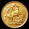 Sovereign 1889 G of D:G: now closer to crown S.3866B VF the reverse better, slabbed and graded LCGS 50