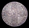 Sixpence 1707 Plain in angles ESC 1587 NEF/EF with a deep and colourful tone