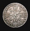 Sixpence 1699 Plumes ESC 1577 NEF/GVF Very rare in this grade, Ex-Lord Hamilton collection
