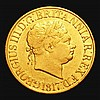 Sovereign 1817 Marsh 1 Fine/Good Fine with some old scratches on the obverse