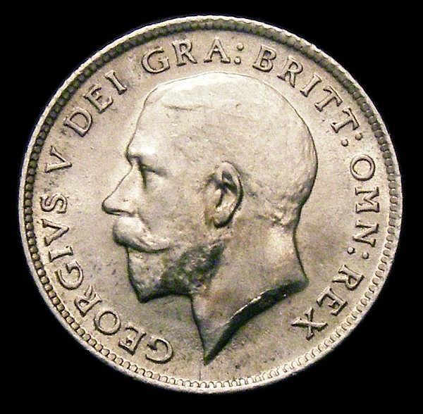 Sixpence 1911 ESC 1795 Davies 1862 dies 2A UNC the reverse with light cabinet friction, A rare die pairing