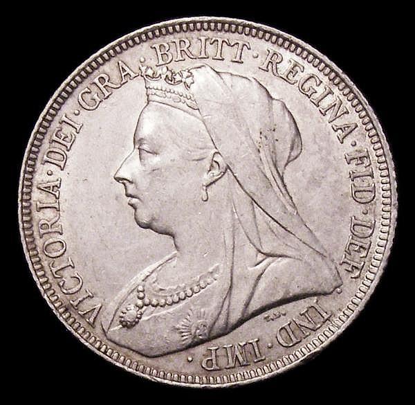 Shilling 1894 ESC 1363 Davies 1015 dies 2B NEF