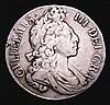 Shilling 1698 Fourth Bust, Flaming Hair, Plain in angles ESC 1115 Fine, Rare