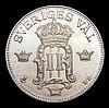Sweden 50 Ore 1907 Unc KM771