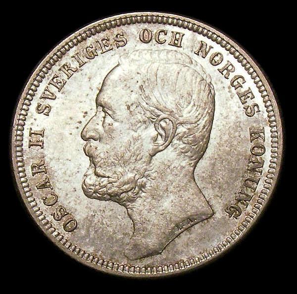 Sweden Kronor 1904 AU/Unc KM760