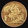 Half Sovereign 1911 Proof S.4006 PCGS PR64