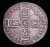 Sixpence 1696N First Bust, Early Harp, Large Crowns ESC 1538 VF/GVF with some haymarking, scarce