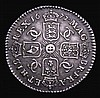 Sixpence 1677 ESC 1516 NEF with even grey tone, a pleasing example with much eye appeal