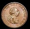 Halfpenny 1799 5 incuse gunports Peck 1248 EF