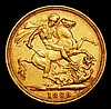 Sovereign 1889M G: of D:G: closer to crown S.3867B GF/NVF