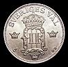 Sweden 50 Ore 1906 Unc KM771