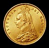 Half Sovereign 1887 Jubilee Head Imperfect J in JEB Marsh 478C NEF