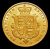 Half Sovereign 1855 Marsh 429 Good Fine