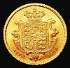 Half Sovereign 1835 Marsh 411 UNC or very near so and choice, all William IV Half Sovereigns extremely difficult to find in this high grade