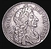 Halfcrown 1683 ESC 490 NVF/GF the obverse bold, the reverse with a slight weakness on the 16 of the date