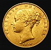 Sovereign 1838 Marsh 22 About VF