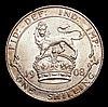 Shilling 1908 ESC 1417 GEF/AU and lustrous with a hint of golden tone
