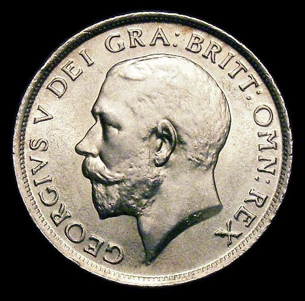 Shilling 1912 ESC 1422 Davies 1794 dies 3A Lustrous UNC, A rare die pairing