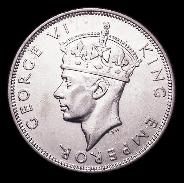Southern Rhodesia Halfcrown 1946 KM#15a NEF/GEF and lustrous