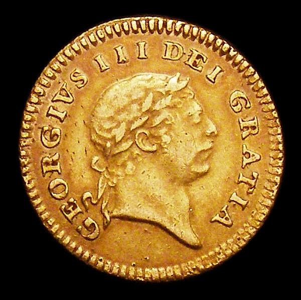 Third Guinea 1804 S.3740 Good Fine with some small digs