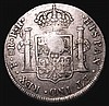 Dollar George III Oval Countermarked on Bolivia (Potosi) 8 Reales 1792 PTS ESC 131 countermark NVF host coin Fine, scarce