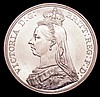Crown 1887 ESC 296 UNC or near so and lustrous with some light contact marks