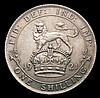 Shilling 1921 ESC 1431 Davies 1805 dies 3D GEF and nicely toned, Rare