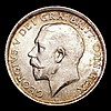 Shilling 1918 ESC 1428 UNC and lustrous the obverse with an attractive golden tone