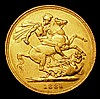 Sovereign 1881M George and the Dragon No BP, S.3857A VF