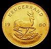 South Africa Krugerrand 1980 Unc