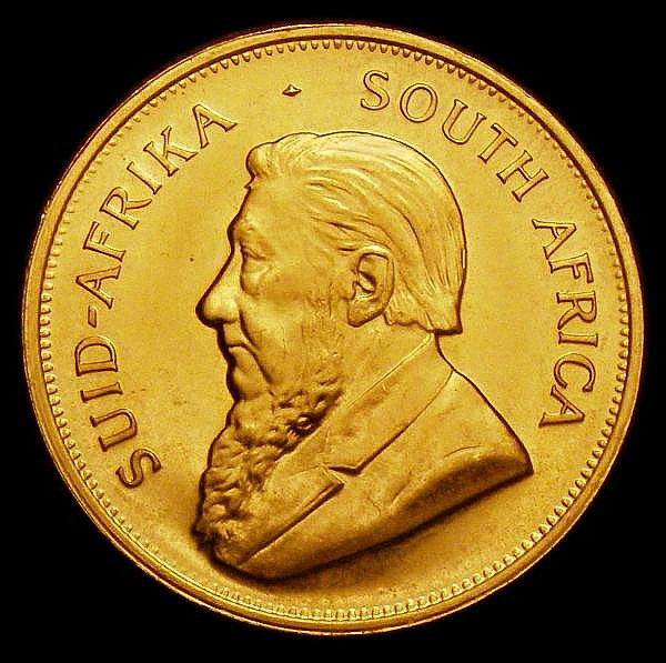 South Africa Krugerrand 1979 GEF lightly toned