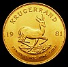 South Africa Krugerrand 1981 Unc