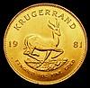 South Africa Krugerrand 1981 GEF