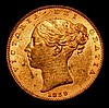 Isle of Man Farthing 1839 S.7419 UNC with around 75% lustre